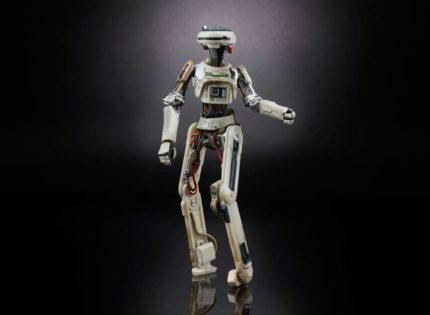 Offizielle Bilder zur neuen Hasbro Black Series L3-37-Figur
