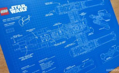 LEGO 75181 UCS Y-Wing: Erstes Bild des Blueprint Posters