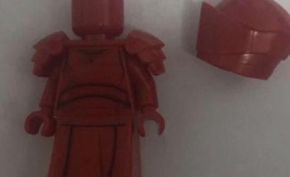 Erste Bilder zu einer LEGO Elite Praetorian Guard Minifigur aufgetaucht
