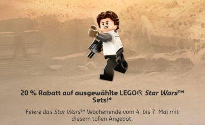 """LEGO Star Wars """"May the 4th"""" Rabatt-Aktion: Diese Sets sind reduziert"""