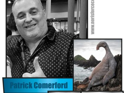 Noris Force Con 5: Special Guest Patrick Comerford angekündigt