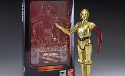Neue Bilder zur S.H.Figuarts C-3PO 6″-Figur aus The Force Awakens