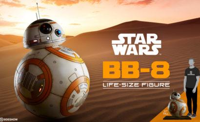 Teaser zu einer neuen Sideshow BB-8 Life-Size Figure