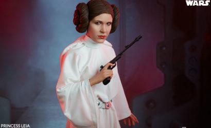 Unboxing-Video zur neuen Sideshow Princess Leia Premium Format Figure