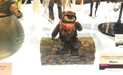 Viele neue Star Wars S.H.Figuarts 6″-Figuren ausgestellt