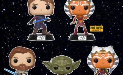"""Neue Funko POP! Wackelköpfe zu """"Star Wars: The Clone Wars"""""""