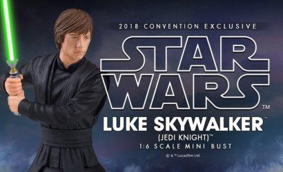 Luke Skywalker Mini-Bust ist die dritte SDCC 2018-Ankündigung von Gentle Giant