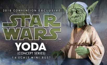 Gentle Giant zeigt Yoda als McQuarrie Konzept-Büste