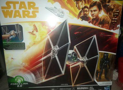 Neuer Hasbro Force Link 2.0 TIE Fighter aufgetaucht