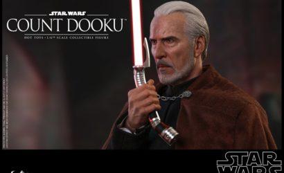 Hot Toys zeigt beeindruckende Count Dooku Sixth Scale Figure