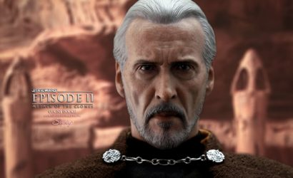 Hot Toys Count Dooku Sixth Scale Figure – Bilder des Endprodukts