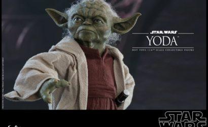 Alle Infos und Bilder zur neuen Hot Toys Yoda (Episode 2) Sixth Scale Figure