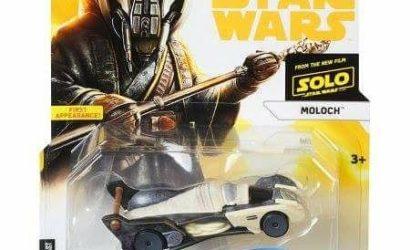 Hot Wheels Star Wars Moloch Character Car aufgetaucht