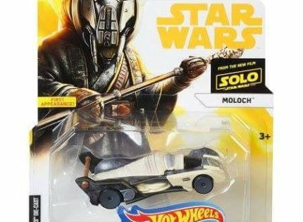 Hot Wheels Star Wars Moloch Character Car aufgetaucht