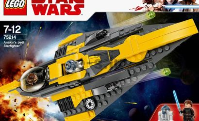 Alle Information zum LEGO 75214 Anakin's Jedi Starfighter