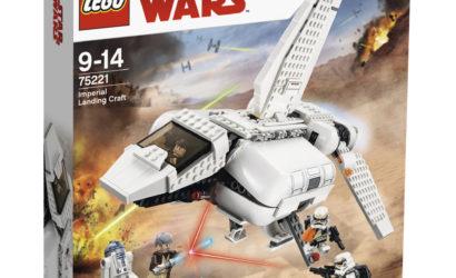 Alle Infos und Bilder zum neuen LEGO Star Wars 75221 Imperial Landing Craft