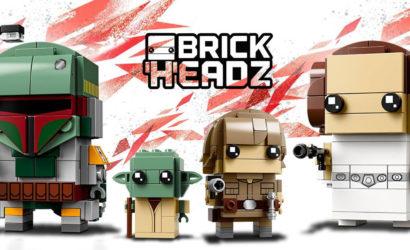 Insgesamt vier neue LEGO Star Wars Brickheadz offiziell vorgestellt