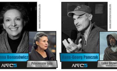 Noris Force Con 5: Synchronsprecher von Luke & Leia zu Gast