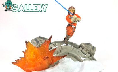 #gallery: Hasbro Black Series 6″ Centerpiece Luke Skywalker