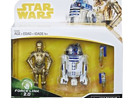Offizielle Bilder zum Hasbro R2-D2 & C-3PO Force Link 2.0-Set
