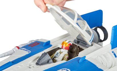 Detailbilder zum Hasbro Force Link 2.0 Resistance A-Wing Fighter
