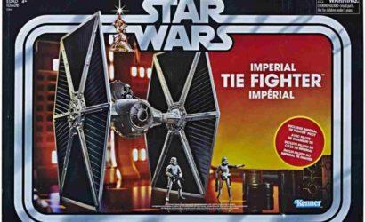 Offizielle Pressebilder zum Imperial TIE Fighter für die Hasbro Vintage Collection