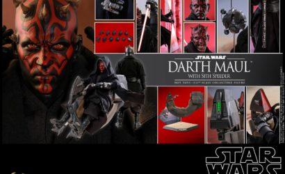 Beeindruckende Hot Toys Darth Maul 1/6 Scale Figure vorgestellt