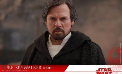 Alle Informationen zur Hot Toys Luke Skywalker (Crait) 1/6 Scale Figur