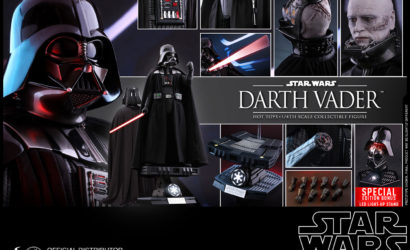 Hot Toys 1/4 Scale Darth Vader Figure nun endlich offiziell