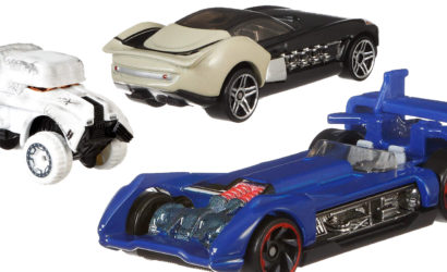 Hot Wheels Han's Speeder Carship und neue Pressebilder zu zwei Character Cars
