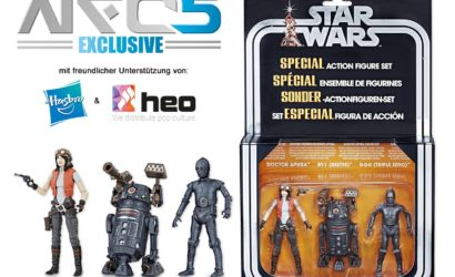 Noris Force Con 5: Exklusive Hasbro Star Wars Collectibles und Q&A