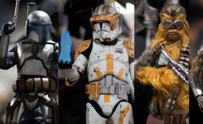 #SDCC2018: Fünf neue Hot Toys Star Wars 1/6 Scale Figuren angekündigt