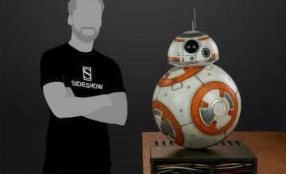 Sideshow Collectibles zeigt lebensgroße BB-8 Figur