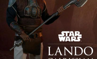 Sideshow Lando Calrissian (Skiff Guard) 1/6 Scale Figure vorgestellt