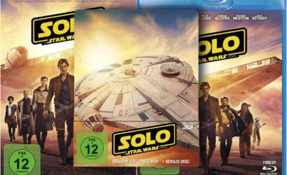 Deutsche Blu-ray- und DVD-Cover zu Solo: A Star Wars Story