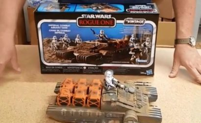 Hasbro TVC Imperial Combat Assault Tank – die ersten Unboxing-Videos!