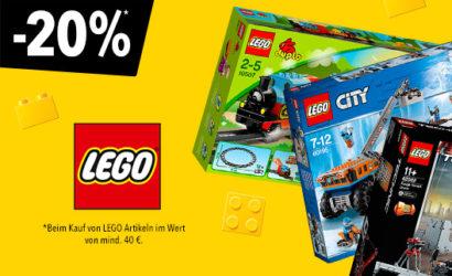 """Toys""""R""""Us: 20% Rabatt auf LEGO-Produkte!"""