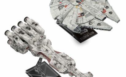 Bandai Blockade Runner & Millennium Falcon Model-Set vorgestellt