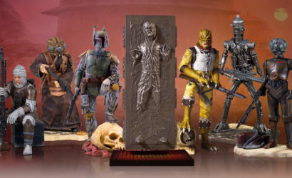 Gentle Giant Han Solo in Carbonite Collector's Gallery Statue vorgestellt