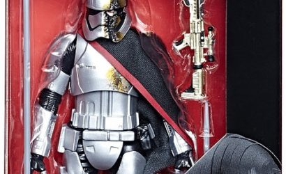 Pressebilder zur Hasbro Black Series Captain Phasma (Quicksilver Baton) 6″-Figur