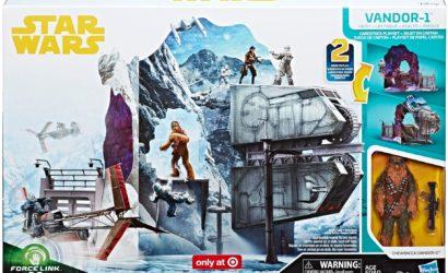 "Pressebilder zum Hasbro Force Link 2.0 Cardboard Playset ""Vandor-1 Heist"""