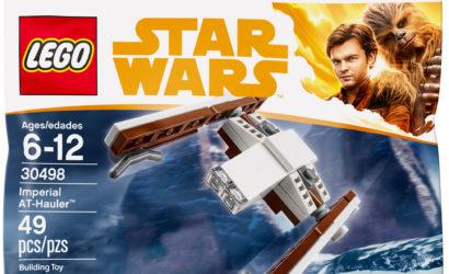 LEGO 30498 Imperial AT-Hauler Polybag: Pressebilder und Bauanleitung