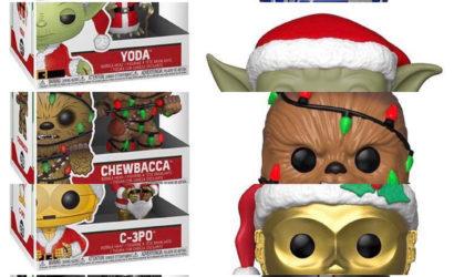 Fünf neue Funko POP! Star Wars Weihnachts-Wackelköpfe aufgetaucht!