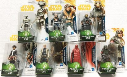 Live-Bilder der kommenden Hasbro Force Link 2.0-Figuren
