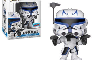 Funko zeigt POP! Captain Rex als NYCC 2018 Exclusive