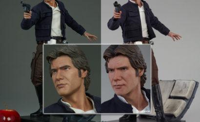Finale Produktfotos zur neuen Sideshow Han Solo Premium Format Figur