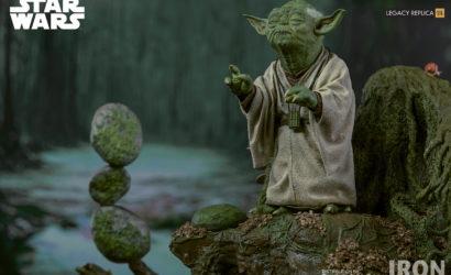 Iron Studios Yoda 1/4 Legacy Replica Statue vorgestellt