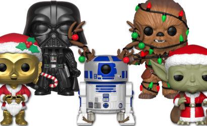 Die Funko POP! Star Wars X-Mas-Wackelköpfe kommen im Herbst!