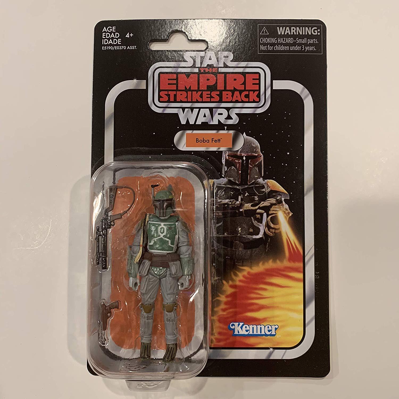 Star Wars Empire Strikes Back Vintage Collection Re-release Boba Fett Hasbro