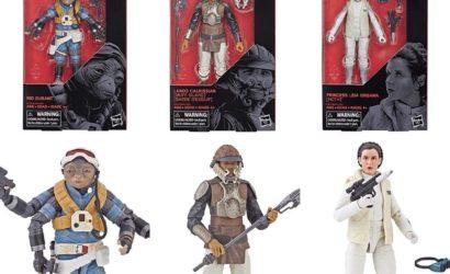 Black Series 6″ Rio Durant, Leia (Hoth) und Lando (Skiff Guard) – alle Bilder
